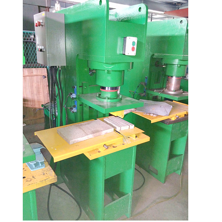 Bestlink Granite Marble Waste Stamping Machine / Stone Spilting Machine with Various Shape Mould