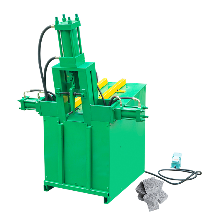 Hydraulic Stone Guillotine for Choping Cubic Granite