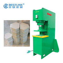 Bestlink Factory Hydraulic Pressing Stone Remnant Recycling Machine Making Paver Tiles