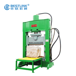 New Design BRT70T-600x300-MF Hydraulic Stone Splitting Machine with Two Side Blades