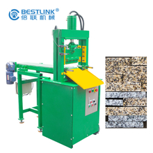 Bestlink Factory Hydraulic Mosaic Stone Splitter for Making Small Strips Stones