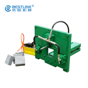 Economical Compact Tools Splitting Cubic Granite Paver Machine