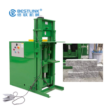 Bestlink Factory Chopping Machine for Stripe Wall Cladding Stone