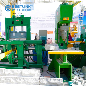 Terrazzo Pavers Stone Guillotine Splitting Machine