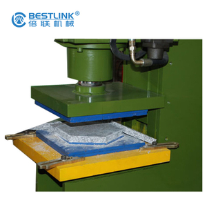 Bestlink Factory Hydraulic Waste Slabs Pressing Machine for Round Firepits Designs